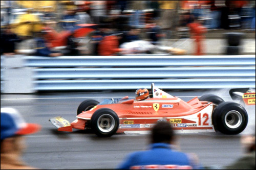 Жиль Вильнёв на Гран При США в Уоткинс-Глен 1979 года