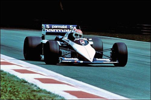 Нельсон Пике на Гран При Италии 1983 года