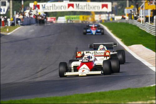 Ален Прост на Гран При Португалии 1984 года