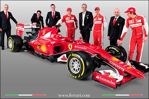Презентация Ferrari SF15-T