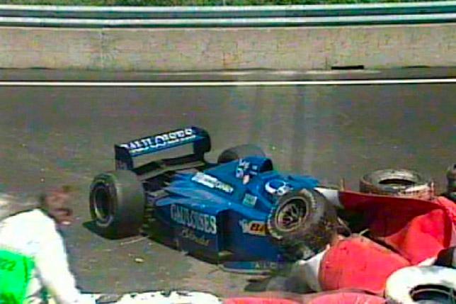 Авария Оливье Паниса в Канаде, 1997 год