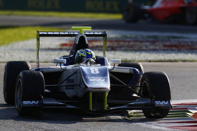 Джимми Эриксон за рулём машины Koiranen GP