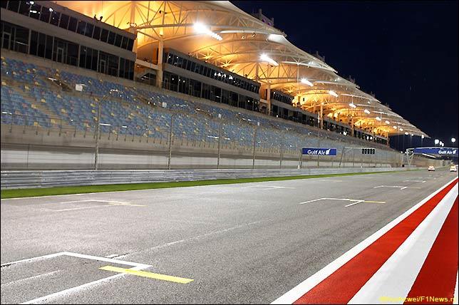 Стартовое поле Гран При Бахрейна 2016