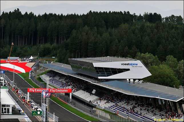 Стартовое поле Гран При Австрии 2016