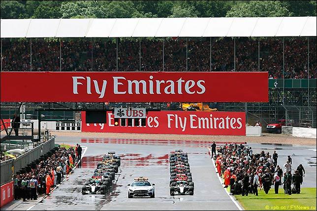 Старт Гран При Великобритании 2016
