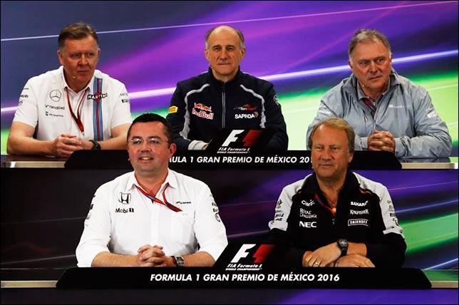 Гран При Мексики: Пресс-конференция в пятницу