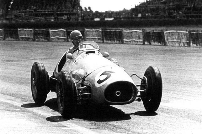 Альберто Аскари на Гран При Великобритании