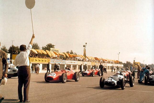 Стартовое поле Гран При Италии 1959 года