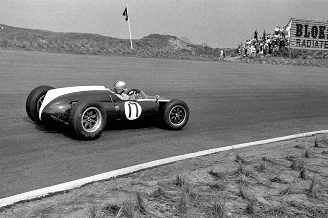 Джек Брэбэм на Гран При Нидерландов 1960 года