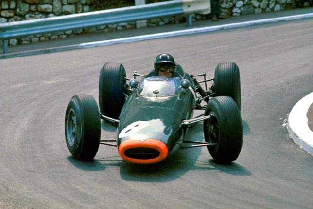 Грэм Хилл на Гран При Монако 1964 года