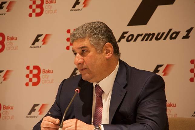Азад Рагимов, министр молодёжи и спорта Азербайджана