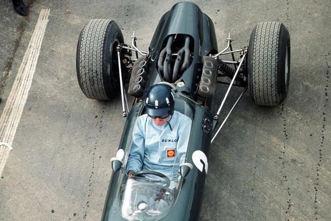 Грэм Хилл на Гран При США 1965 года