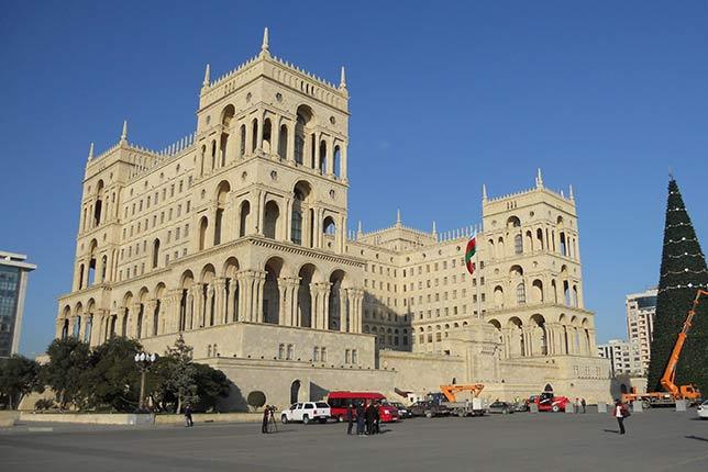 Баку, Президентский дворец
