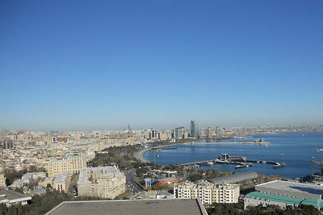 Столица Азербайджана Баку