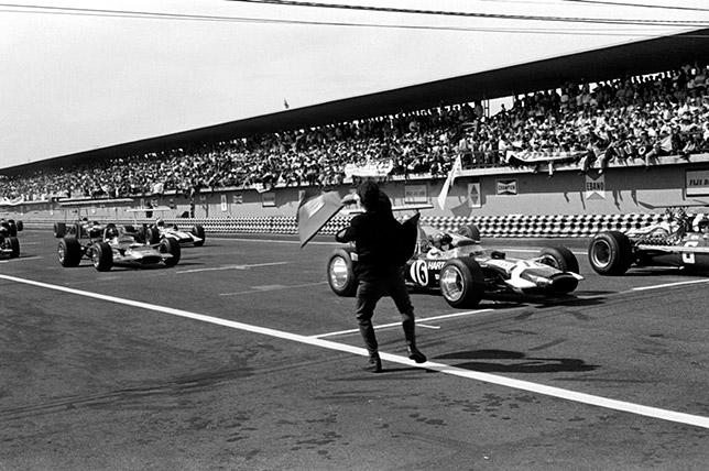 Старт Гран При Мексики 1968 года