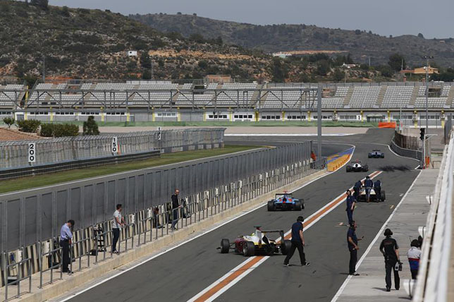 Тесты GP3 в Валенсии, 2015 год