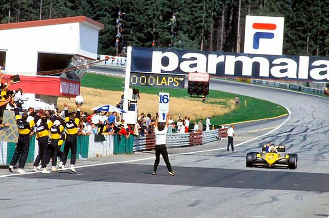 Ален Прост выигрывает Гран При Австрии 1983 года