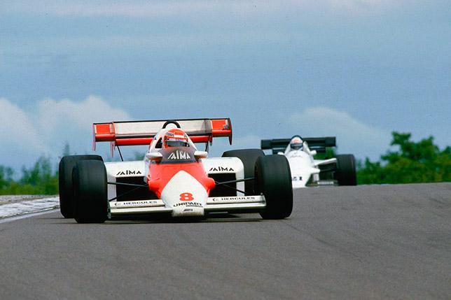 Ники Лауда на Гран При Франции 1984 года