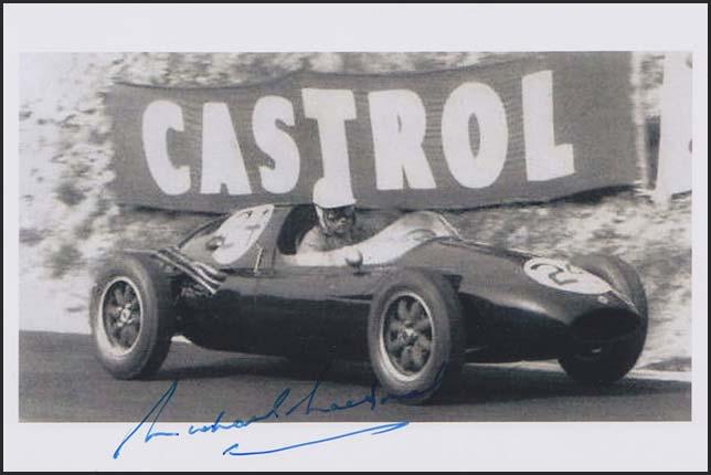 Майкл Макдауэл на трассе Гран При Франции 1957 года