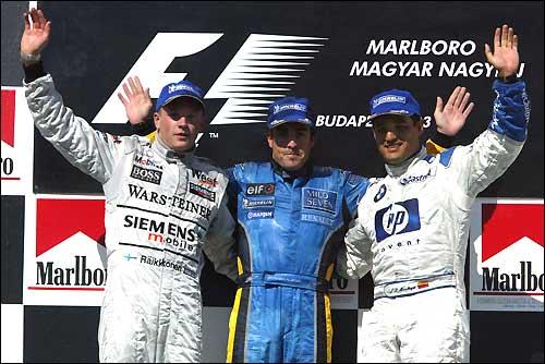 Подиум Гран При Венгрии/03
