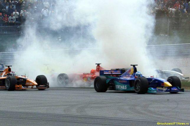 Авария на старте Гран При Австрии 2000 года