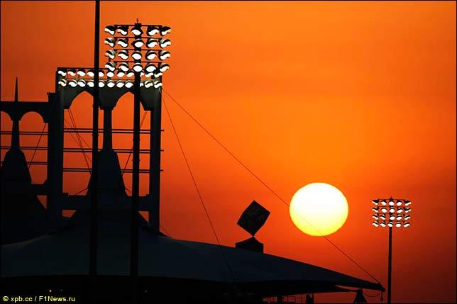 巴林大奖赛:天气为比赛