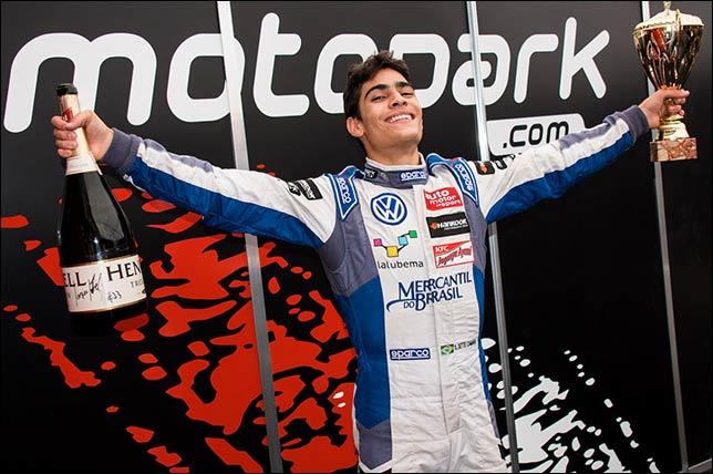 Серхио Сетте Камара после прошлогоднего подиума на Motorland Aragon