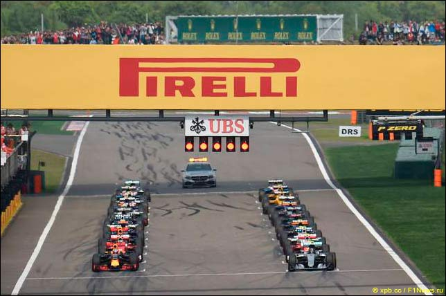 Старт Гран При Китая