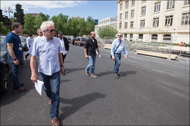 Визит Чарли Уайтинга в Баку