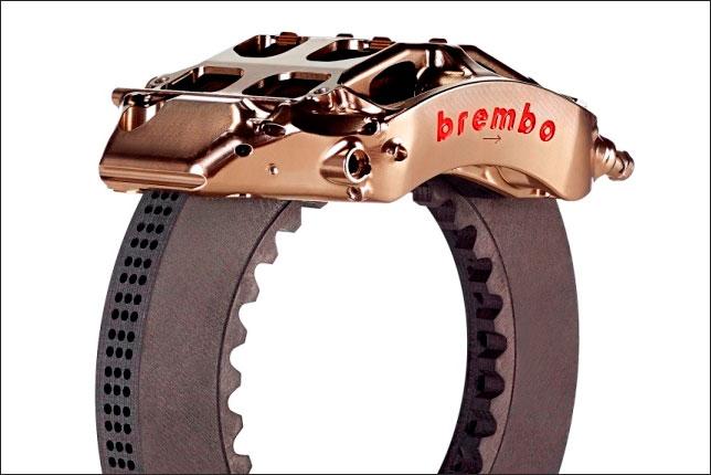 Тормоза Brembo, предназначенные для Формулы 1