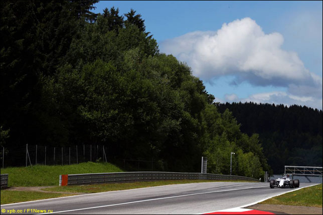 Валттери Боттас на прошлогоднем Гран При Австрии