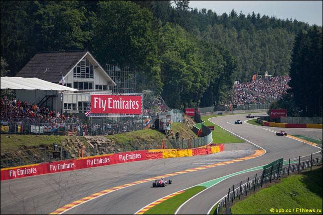Прошлогодний Гран При Бельгии