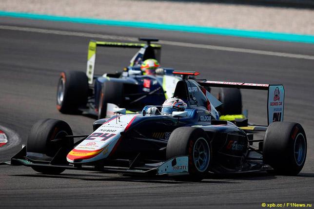 Машина GP3 Константина Терещенко