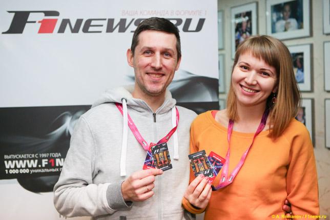 Алексей Косульников и его жена Галина