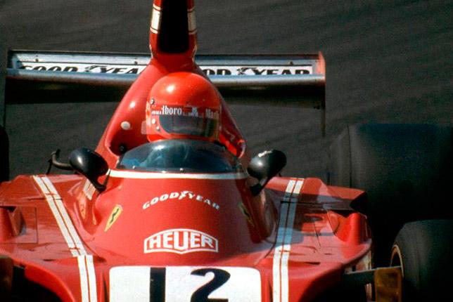 Ники Лауда на Гран При Испании 1974 года