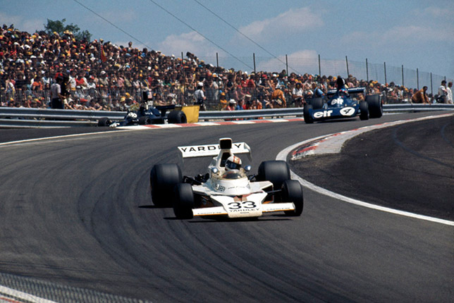 Майк Хэйлвуд и Патрик Депайе на Гран При Франции 1974 года