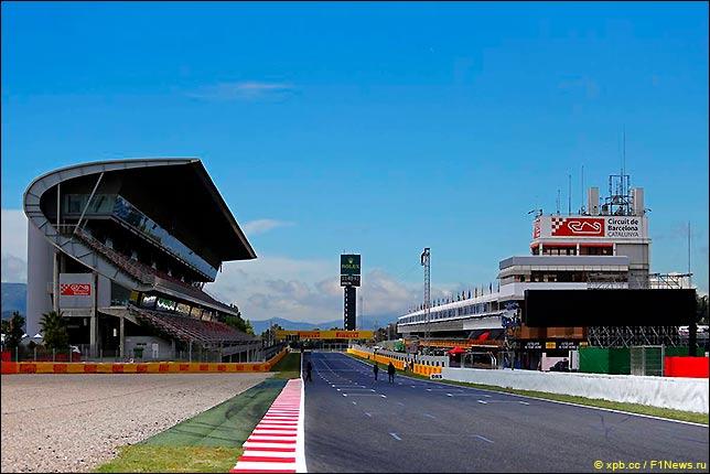Стартовое поле Гран При Испании 2017