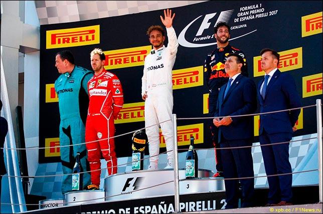 Гран При Испании: Пресс-конференция в воскресенье