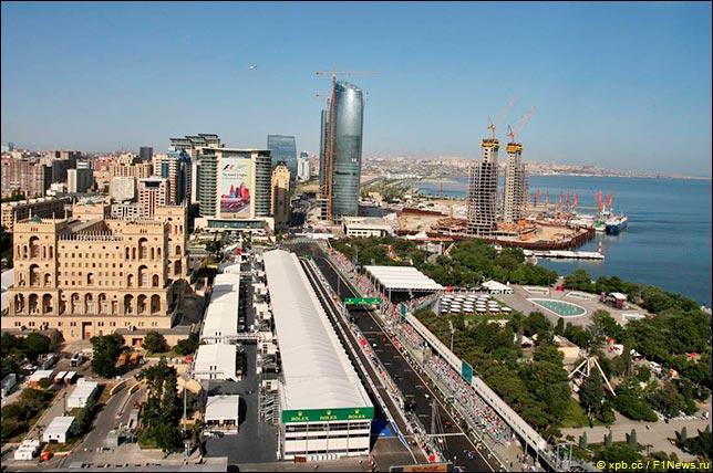 路线和统计:阿塞拜疆大奖赛
