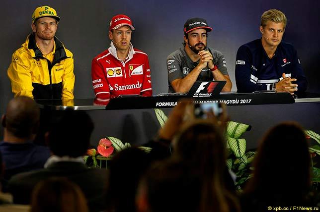 Первая пресс-конференция