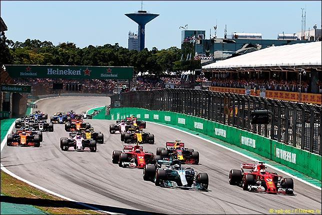Старт Гран При Бразилии 2017