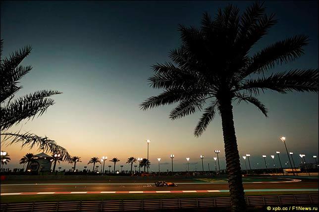 Вторая тренировка в Абу-Даби