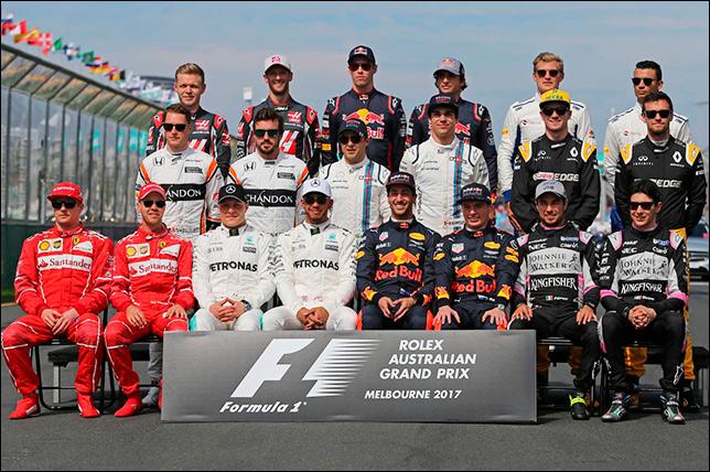 Групповая фотография перед стартом Гран При Австралии