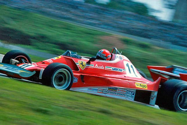 Ники Лауда на Гран При Бразилии 1977 года