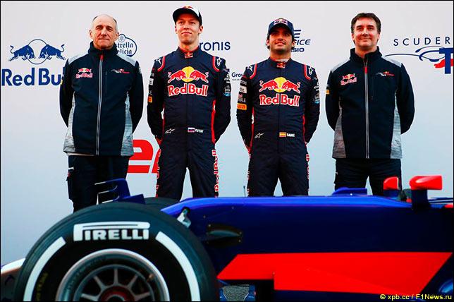 Презентация новой машины Scuderia Toro Rosso