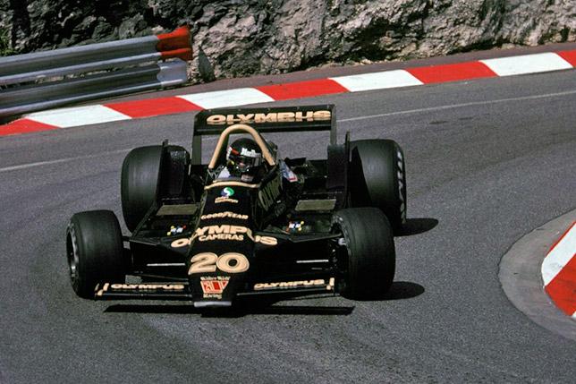 Джеймс Хант на Гран При Монако 1979 года