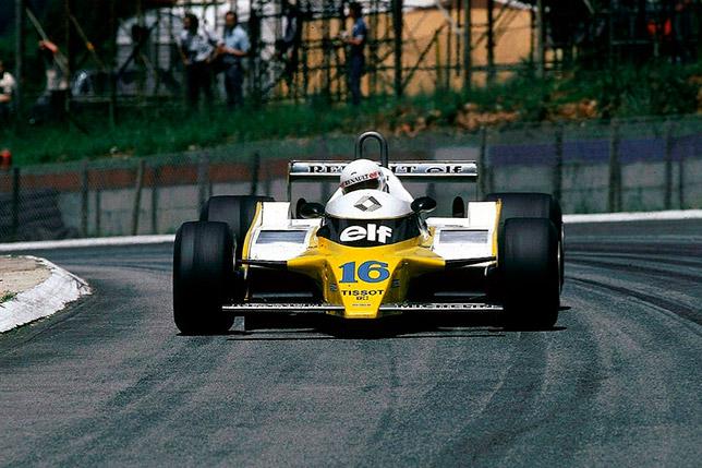 Рене Арну на Гран При ЮАР 1980 года