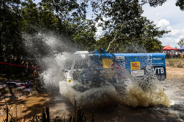 Экипаж Айрата Мардеева на первом этапе ралли-рейда «Дакар-2017»