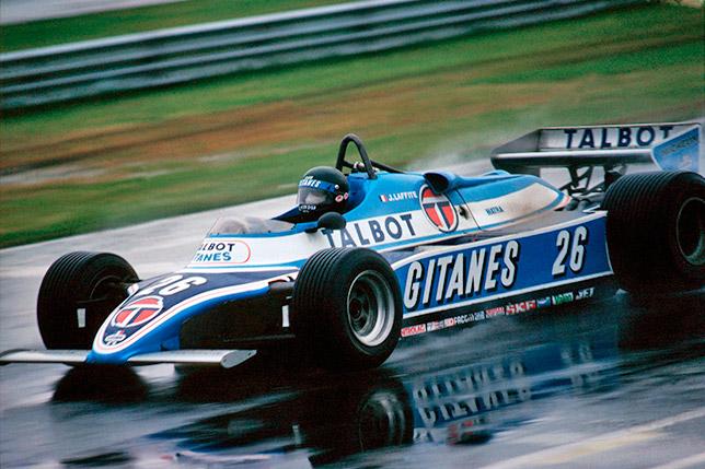 Жак Лаффит на Гран При Канады 1981 года