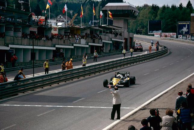 Ален Прост выигрывает Гран При Бельгии, 1983 год